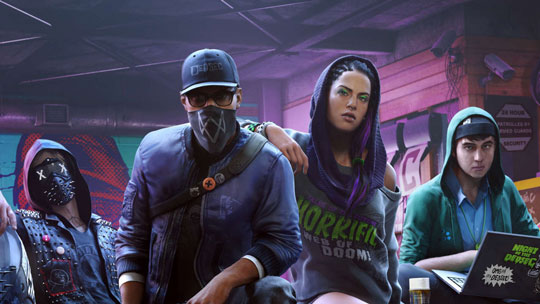 Watch Dogs 2 на русском